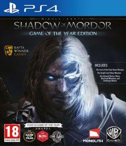 Jogo Terra Média Sombras de Mordor -PS4 - Seminovo