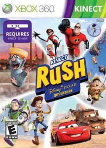 Jogo Kinect Rush: Uma Aventura da Disney - Pixar - XBox 360 - Seminovo