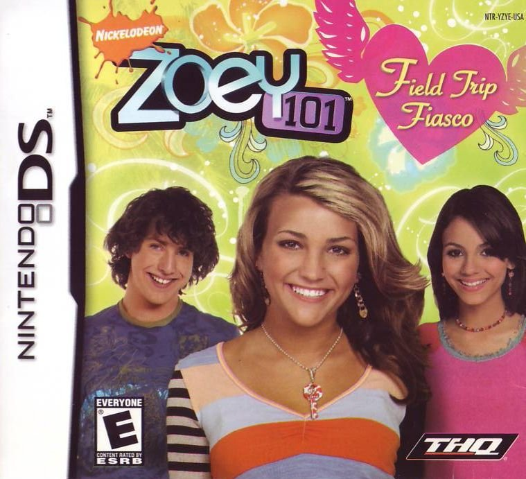 Jogo Zoey 101: Field Trip Fiasco - Nintendo DS - Seminovo