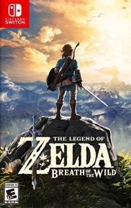Jogo The Legend Of Zelda: Breath Of The Wild - Nintend Switch - Seminovo