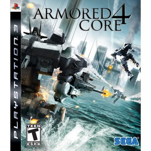 Jogo Armored Core 4 - PS3 - Seminovo