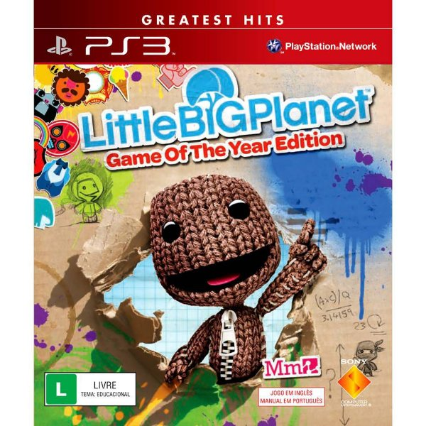 Jogo Little big Planet GOTY- PS3 - Seminovo