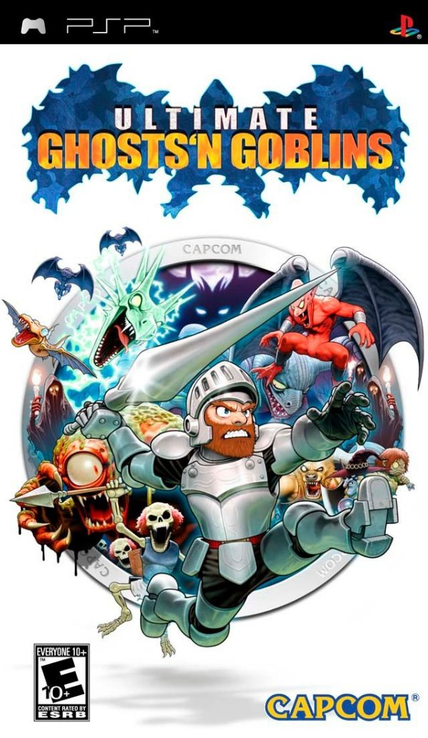 Jogo Ultimate Ghosts'n Goblins - PSP - Seminovo