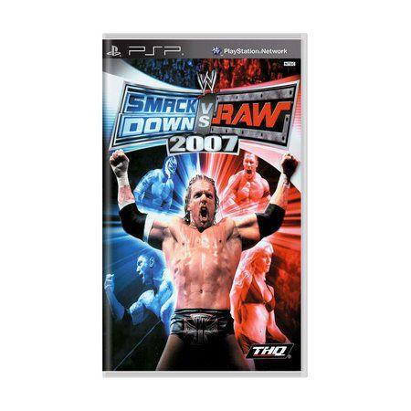 Jogo SmackDown vs Raw 2007- PSP - Seminovo
