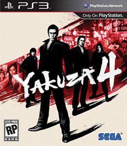Jogo Yakuza 4 - PS3 - Seminovo