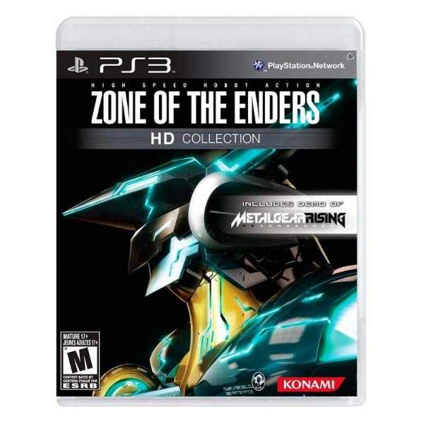 Jogo Zone Of The Enders HD Collection - PS3 - Seminovo
