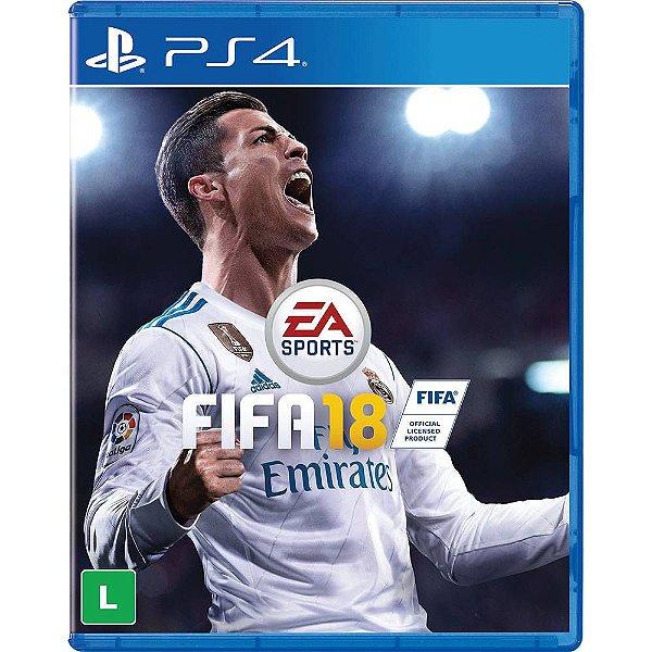 Jogo Fifa 18 - PS4 - Seminovo