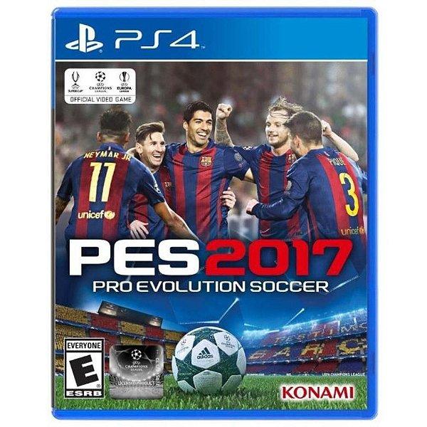 Jogo Pro Evolution Soccer 2017 - PS4 - Seminovo