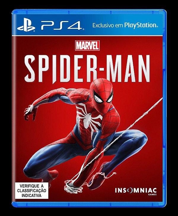 Jogo Spider-Man - PS4 - Seminovo