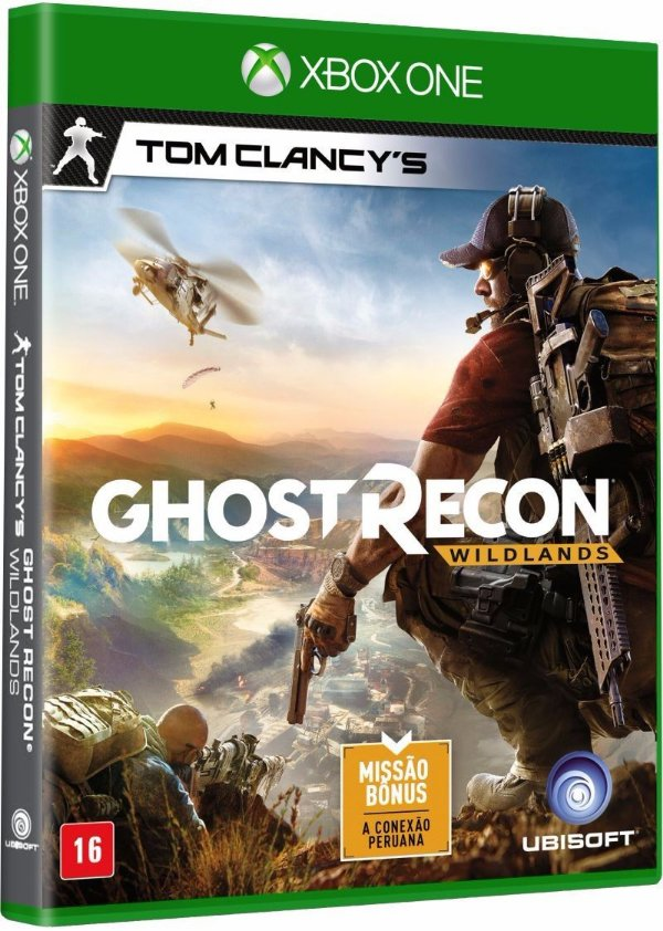 Jogo Tom Clancy´s Ghost Recon Wildlands - Xbox One - Seminovo