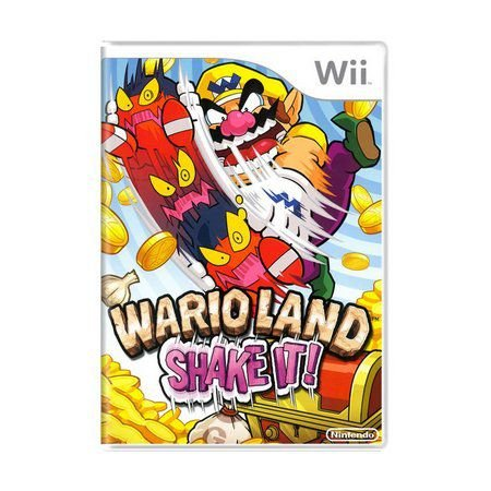Jogo Wario Land Shake It - Wii - Seminovo