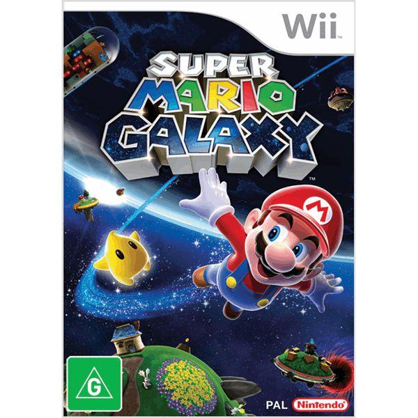 Jogo Super Mario Galaxy - Nintendo Wii - Seminovo
