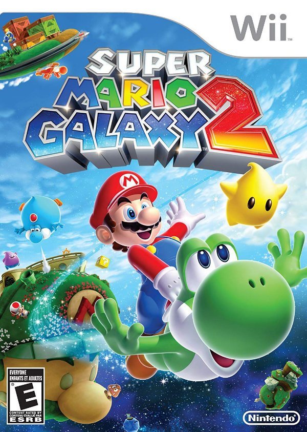 Jogo Super Mario Galaxy 2 - Nintendo Wii - Seminovo
