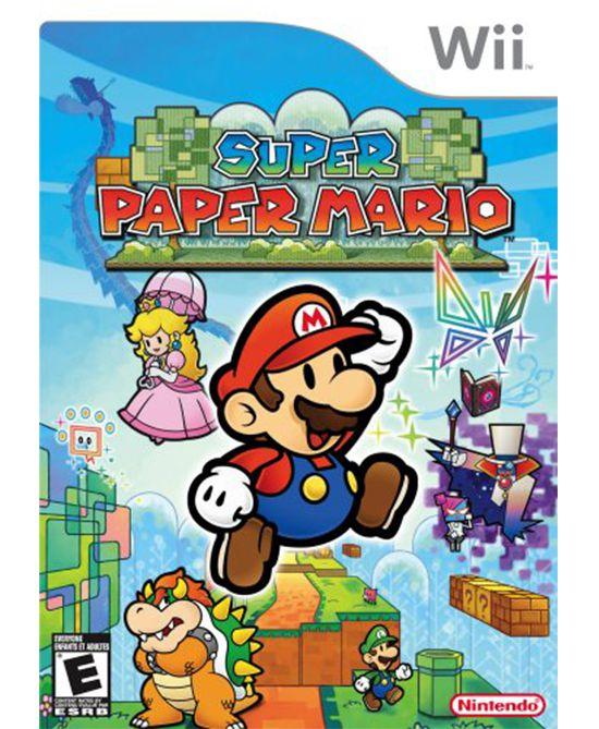 Jogo Super Paper Mario - Nintendo Wii - Seminovo