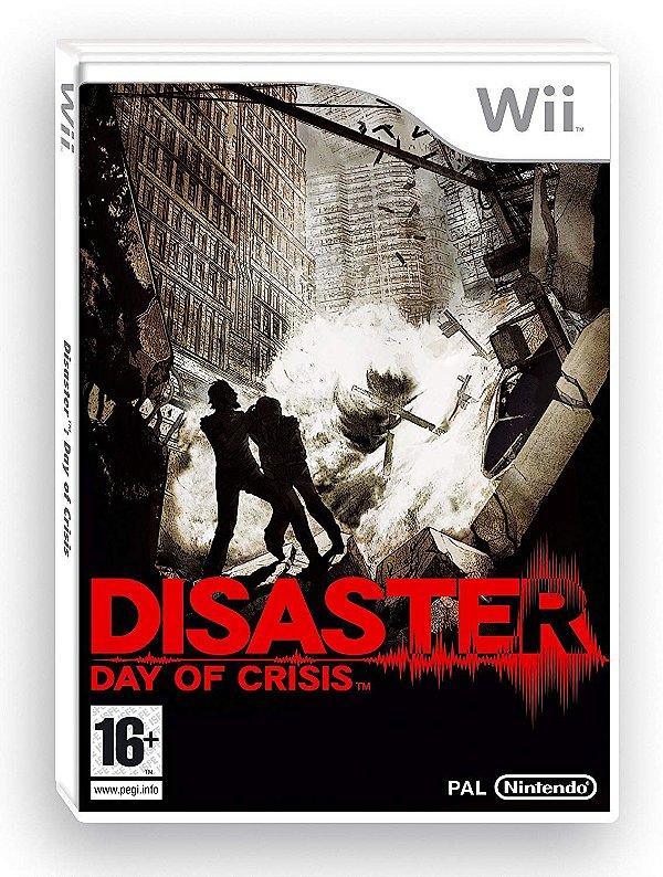 Jogo Disaster Day Of Crisis - Wii - Seminovo