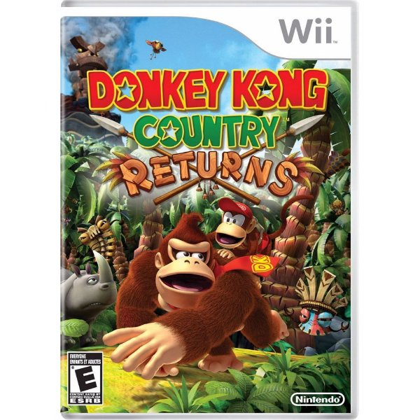 Jogo Donkey Kong Country Returns - Wii - Seminovo