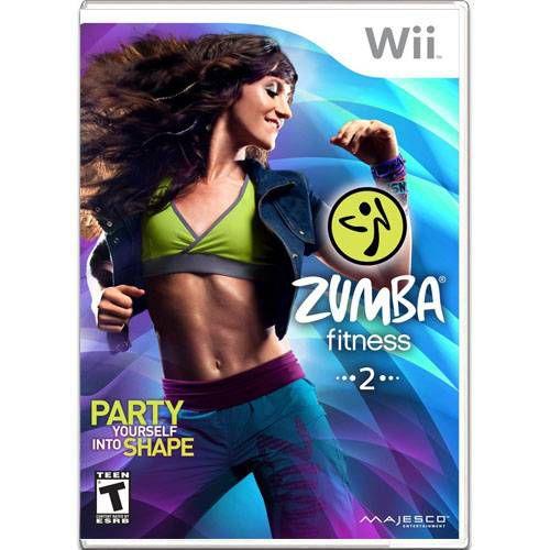Jogo Zumba Fitness 2 - Wii - Seminovo