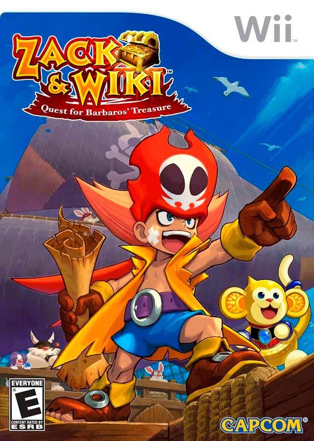 Jogo Zack & Wiki - Wii - Seminovo