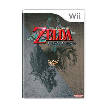 Jogo The Legend Of Zelda Twilight Princess - Wii - Seminovo