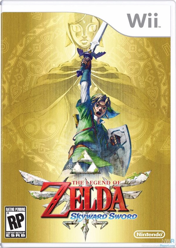 Jogo The Legend Of Zelda Skyward Sword - Wii - Seminovo