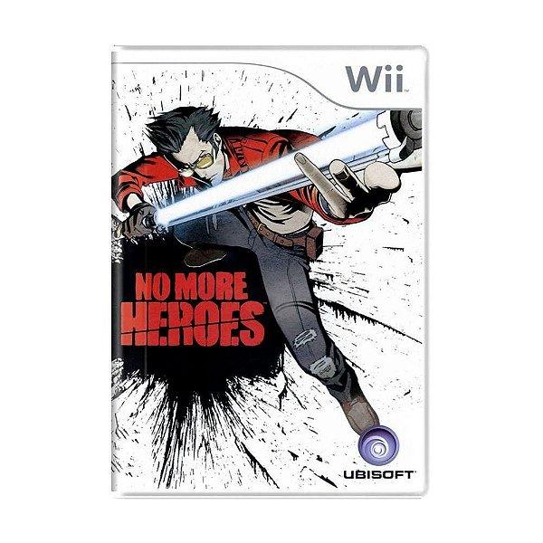 Jogo No More Heroes- Wii - Seminovo