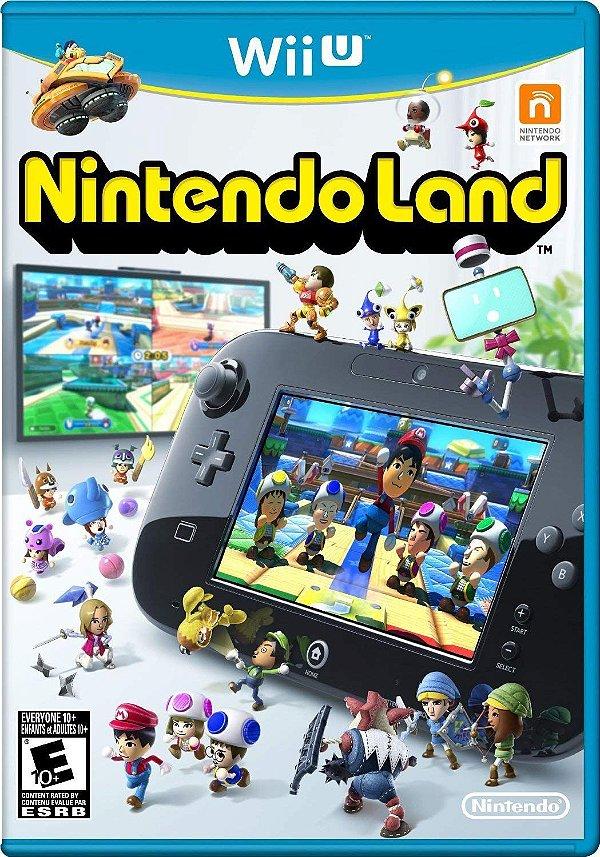 Jogo Nintendo Land - Wii U - Seminovo