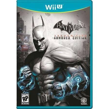 Jogo Batman Arkham City Armored Edition - Wii U - Seminovo
