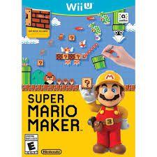 Jogo Super Mario Maker - Wii U - Seminovo