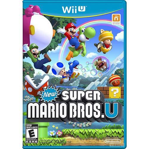 Jogo New Super Mario Bros U - Wii U - Seminovo