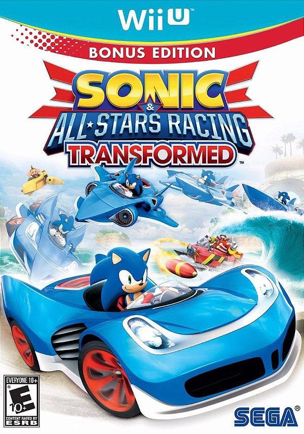 Jogo Sonic All-Stars Racing Transformed - Wii U - Seminovo