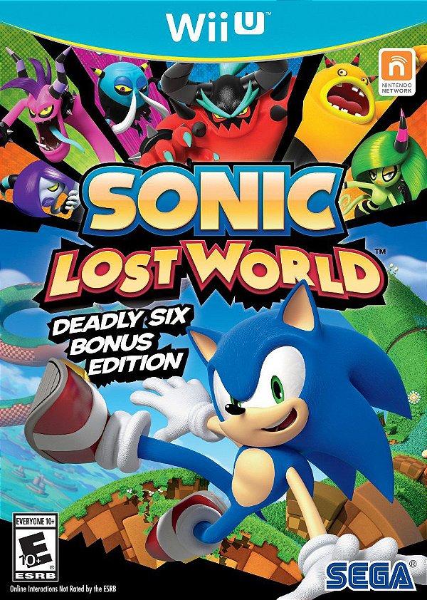 Jogo Sonic Lost World - Wii U - Seminovo