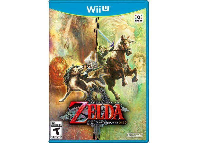 Jogo The Legend Of Zelda Twilight princess HD - Wii U - Seminovo