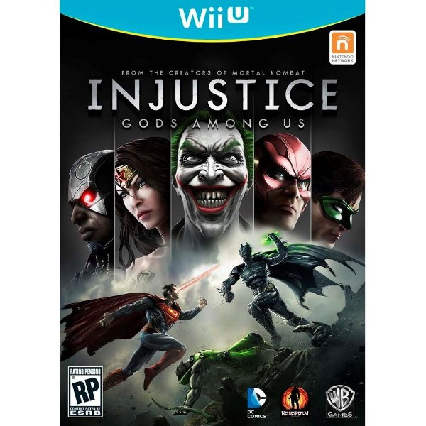 Jogo Injustice: Gods Among Us - Wii U - Seminovo