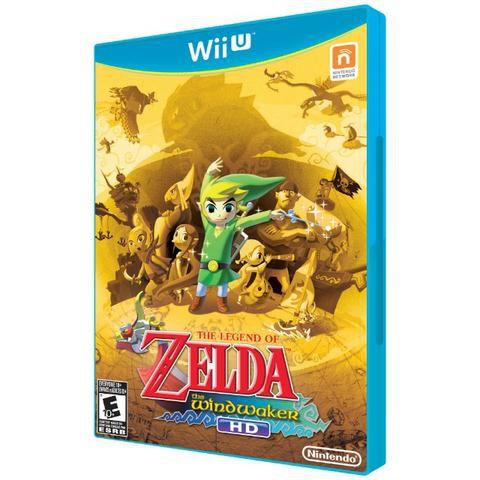 Jogo The Legend Of Zelda The WindWaker - Wii U - Seminovo