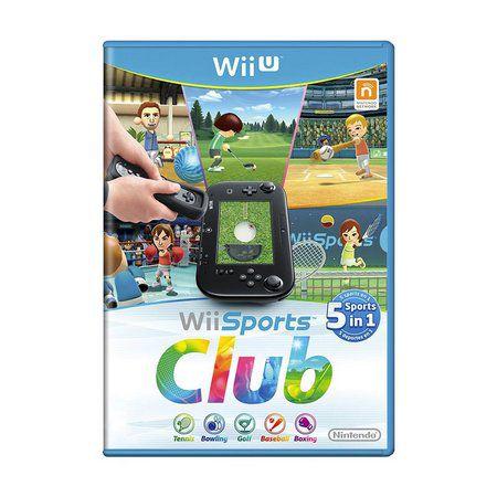 Jogo Wii Sports Club - Wii U - Seminovo