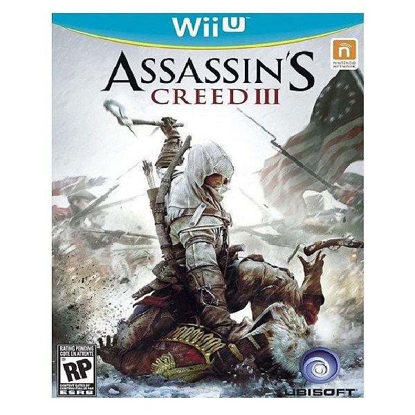 Jogo Assassin's Creed III - Wii U - Seminovo