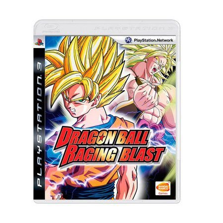 Jogo Dragon Ball Racing Blast  - PS3 - Seminovo