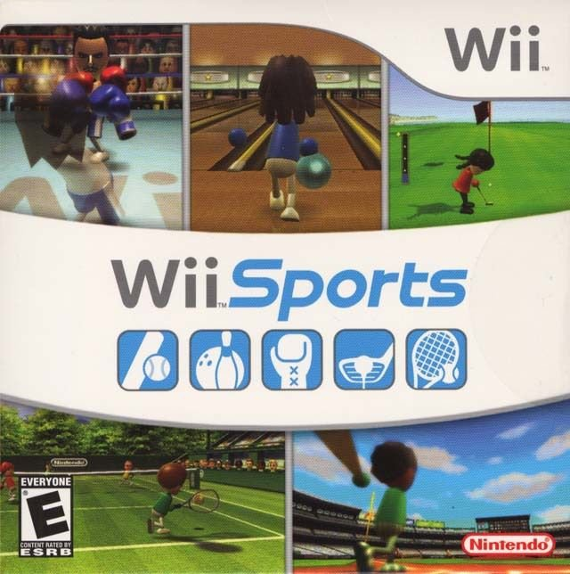 Jogo Wii Sports ( Embalagem Cartão) - Nintendo Wii - Seminovo