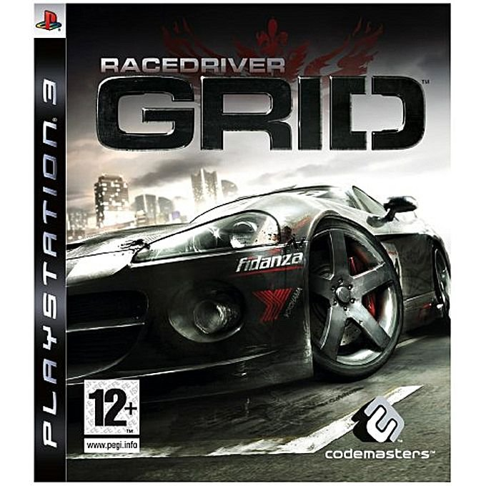 Jogo Racedriver Grid - PS3 - Seminovo(japonês)