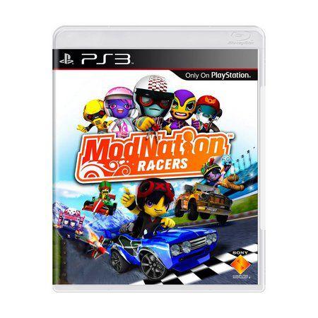 Jogo ModNation Racers- PS3 - Seminovo
