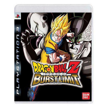Jogo Dragon Ball Z Burst Limit  - PS3 - Seminovo