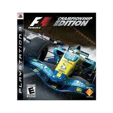 Jogo F1 Championship Edition - PS3 - Seminovo
