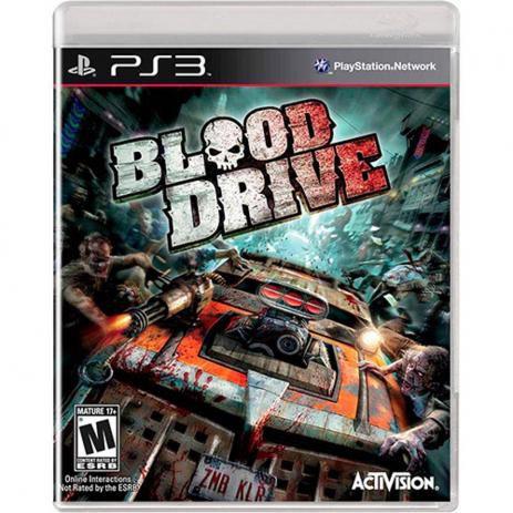 Jogo Blood Drive - PS3 - Seminovo