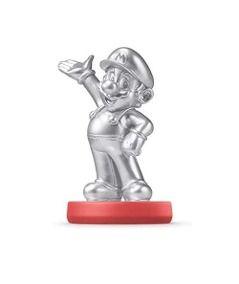 Nintendo Amiibo: Mario Silver Edition - Super Mario - Wii U e New Nintendo 3DS