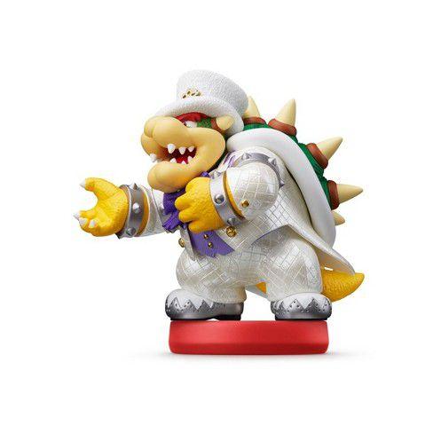 Nintendo Amiibo: Bowser - Super Mario Odyssey - Wii U, New Nintendo 3DS e Switch