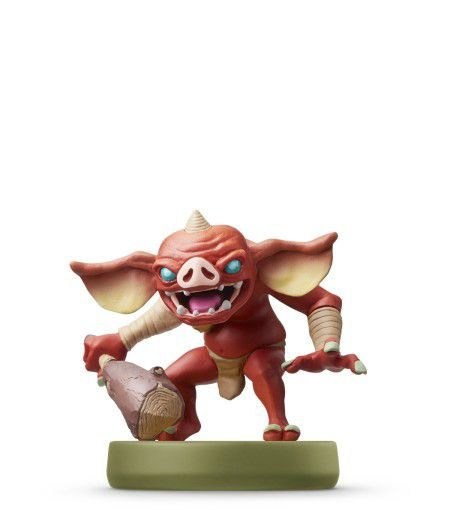 Nintendo Amiibo: Bokoblin - The Legend Of Zelda:Breath Of The Wild - Wii U, New Nintendo 3DS