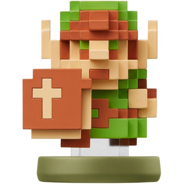 Nintendo Amiibo: Zelda Pixel - Zelda Breath of the Wild - Wii U e New Nintendo 3DS