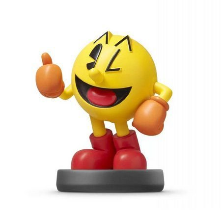 Nintendo Amiibo: Pac-Man - Super Smash Bros - Wii U, New Nintendo 3DS e Switch