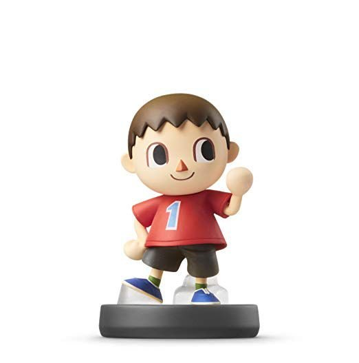 Nintendo Amiibo: Villager - Super Smash Bros - Wii U, New Nintendo 3DS e Switch
