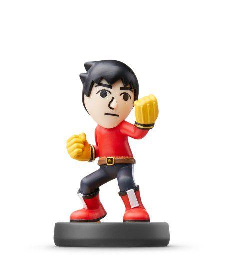 Nintendo Amiibo: Mii Brawler - Super Smash Bros - Wii U, New Nintendo 3DS e Switch